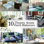 Dreamy Screen Porch Makeovers