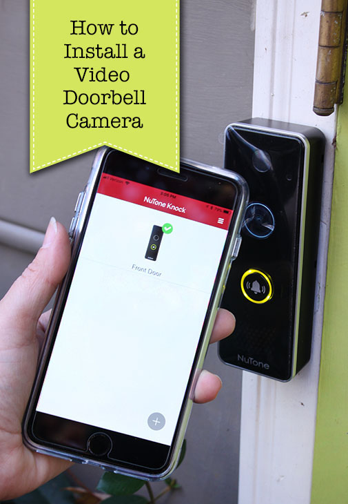 How to Install Video Doorbell Camera