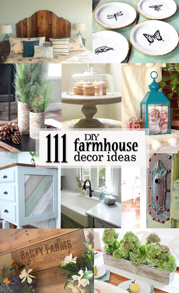 111 diy farmhouse decor ideas pretty handy girl check out these 111 diy farmhouse decor ideas and get a ton of inspiration on how teraionfo