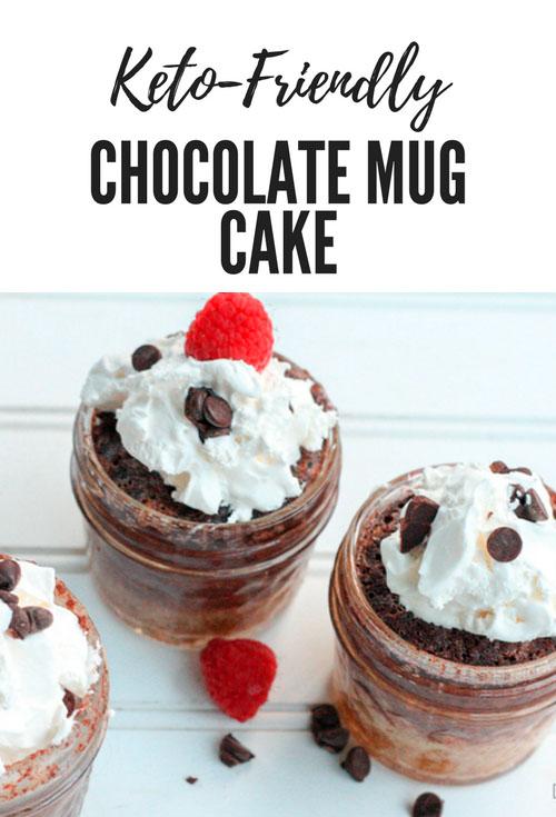 Keto-Friendly Chocolate Mug Cake
