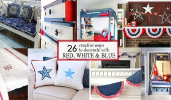 26 Creative Ways to Decorate with Red, White, and Blue