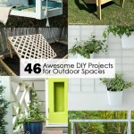 46 Awesome DIY Projects for Outdoor Spaces