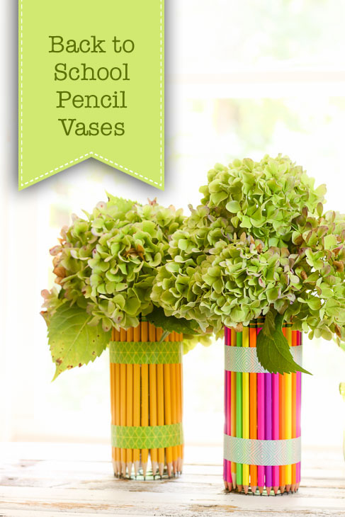 DIY Pencil Vases