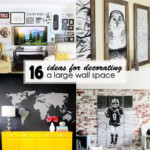 16 Ideas for Decorating a Large Wall Space - square featured Image