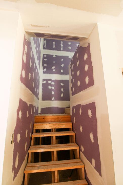 hi-abuse purple drywall