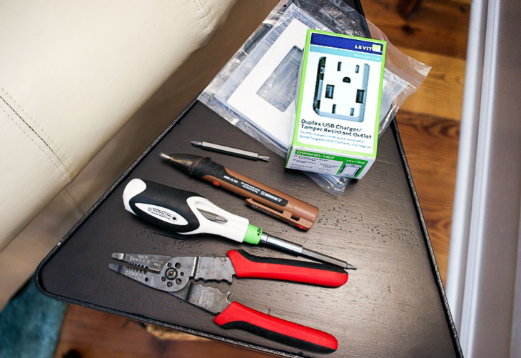 materials for installing outlets