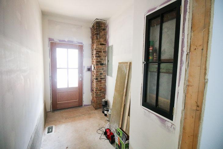 pre-tiling-mudroom-floor