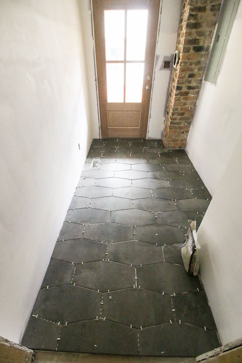 mudroom jeffrey court castle rock hex tiles