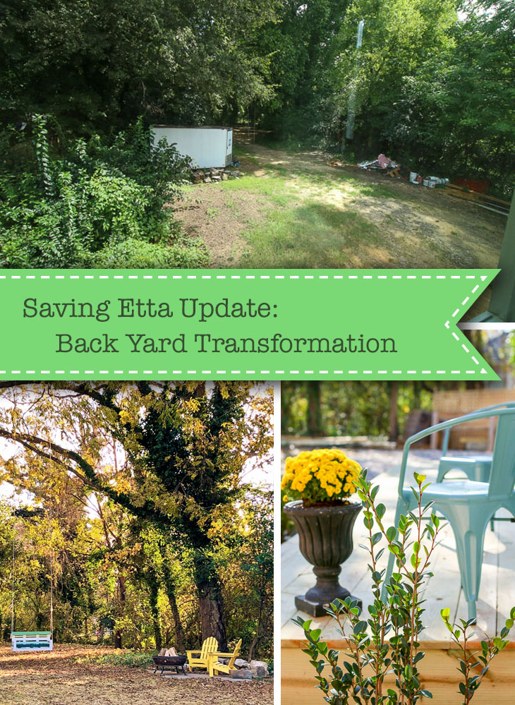 Saving Etta - Backyard Transformation