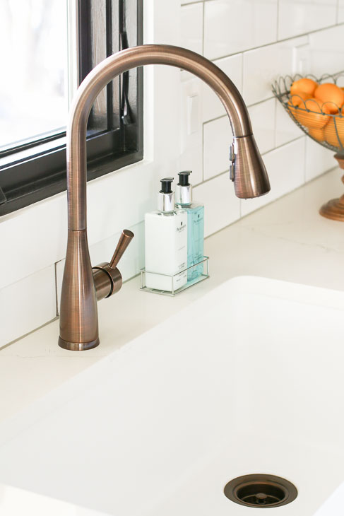 Mirabelle Faucet by Single Basin Sink
