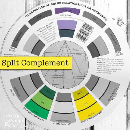 Split Complementary Color Palettes