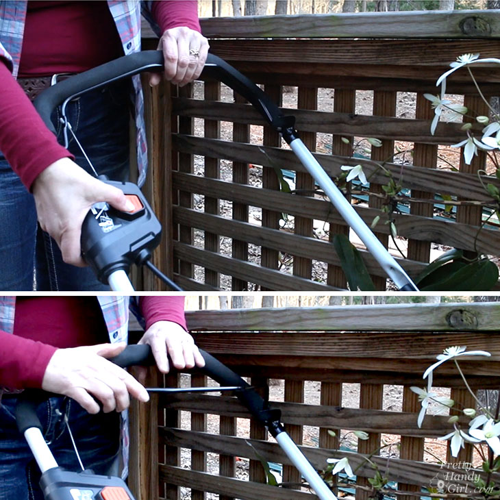 starting and stopping a battery-powered mower
