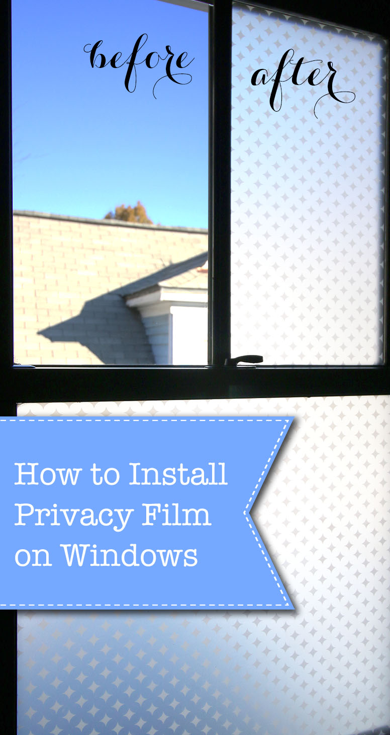 How to Install Privacy Film on Windows