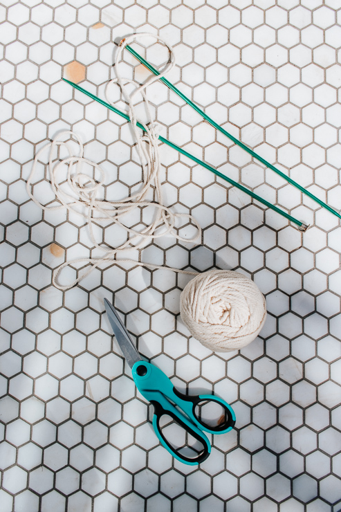 Materials Needed for Mini Macrame Wall Hanging