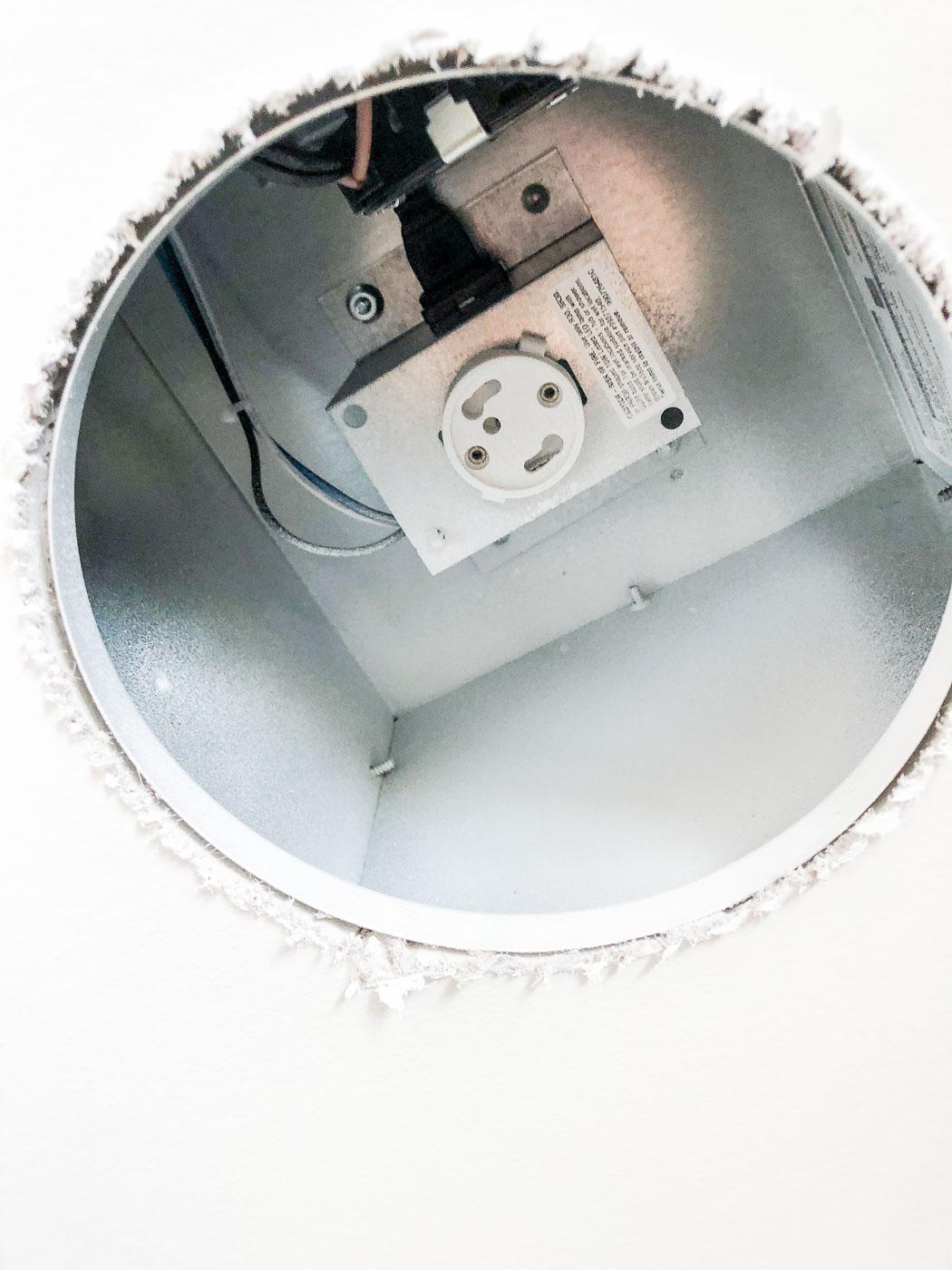 Broan Exhaust Fan Light Housing