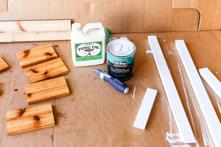 painting and sealing wood for exterior use