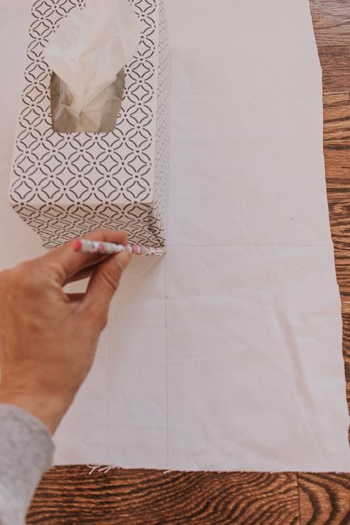 Measure Squares to Make Mitered Corners