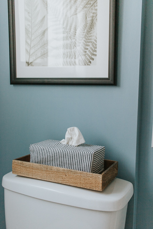 DIY Tissue Box Covers - Easy and Simple Tutorial for covering up those ugly tissue boxes!
