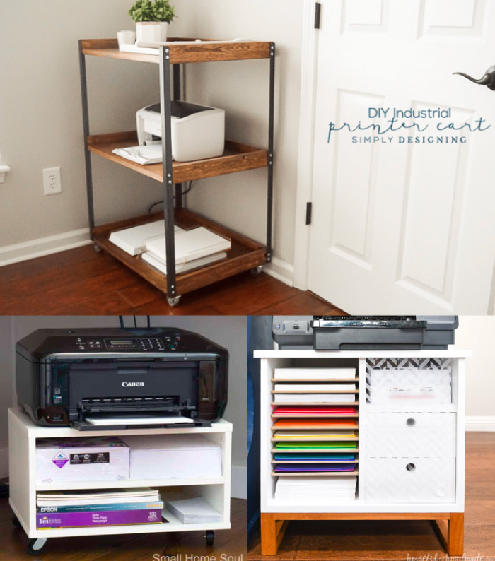 DIY Printer Stands with Build Plans