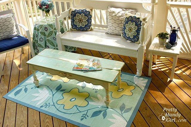 Screen Porch Makeover with Invisible Mosquito Screens