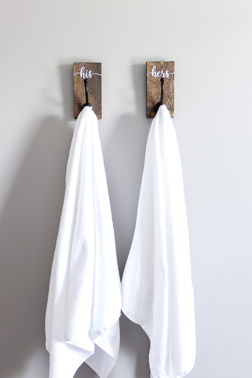 Hanging towels in style