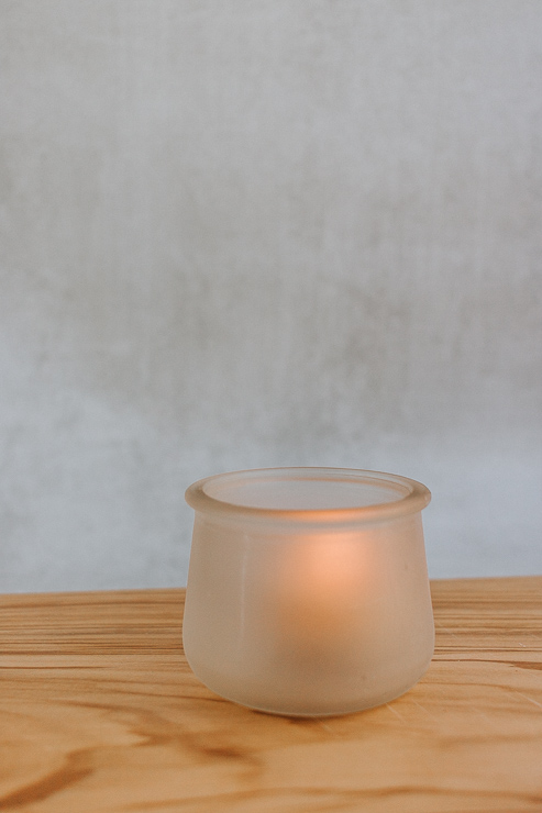 DIY Frosted Votive Candle Holders (2)