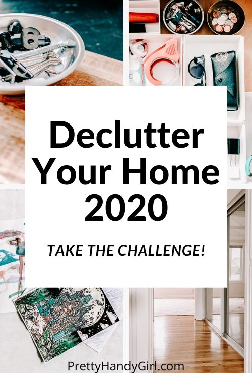Take the challenge and finally declutter your home!