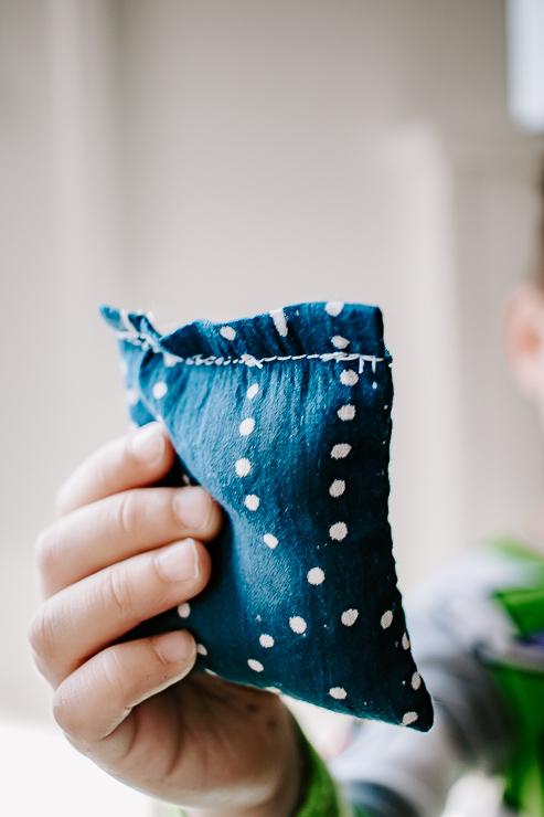 Hand Warmers with RIce DIY