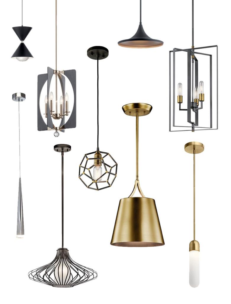 Mid-Century Modern Pendant Lights