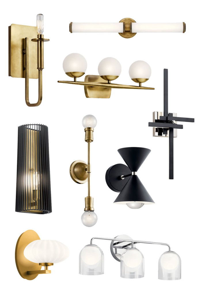 Mid Century Modern Wall Mounted Sconce Lights