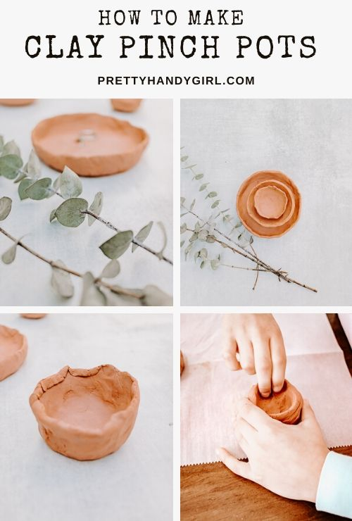 How to Make Clay Pinch Pots