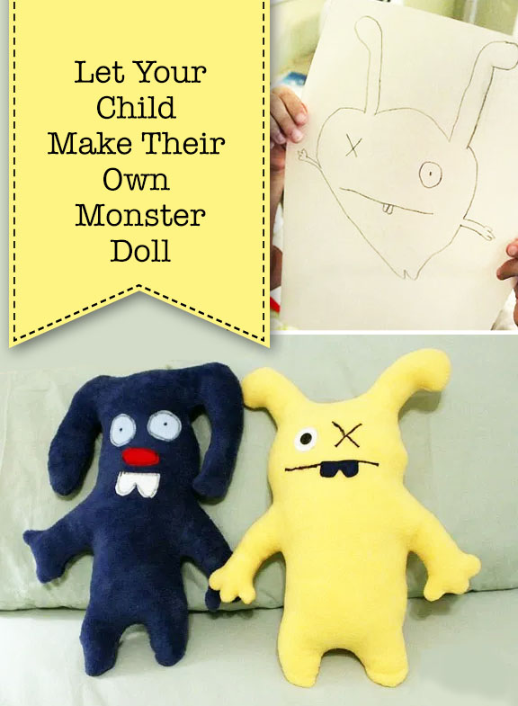 let your child make their own monster doll