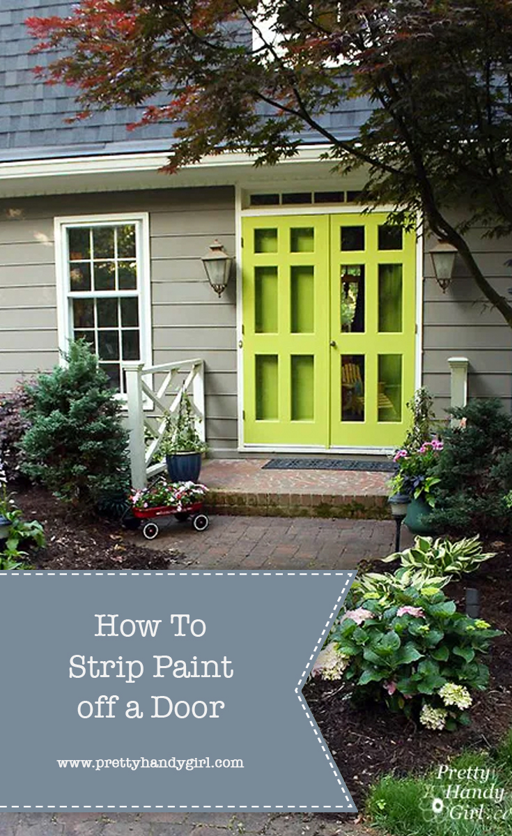 How to Strip Paint off a Door