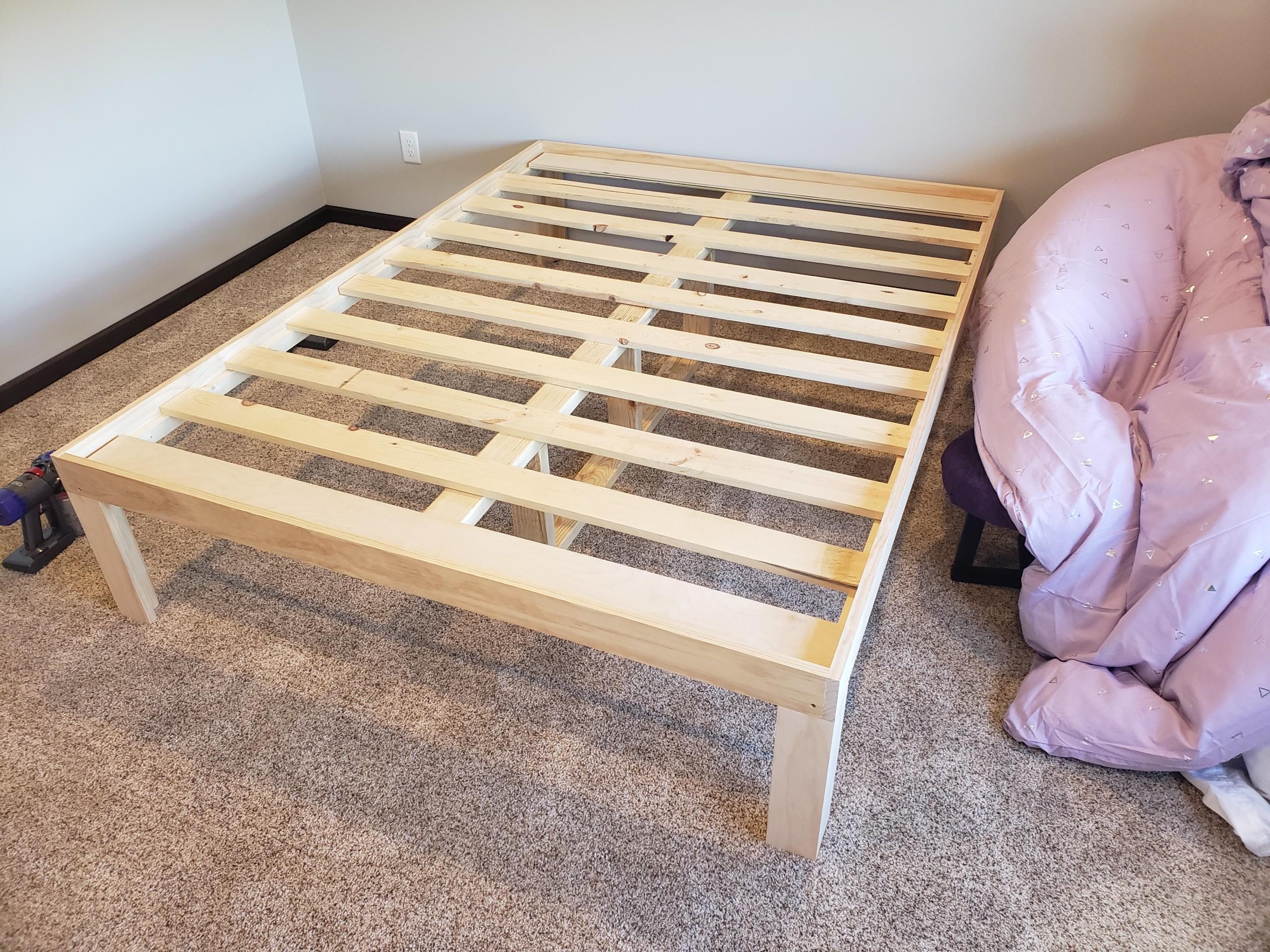 DIY Platform Bed   Pretty Handy Girl
