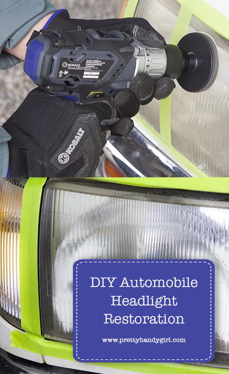 DIY Automobile Headlight Restoration