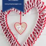 Double Ribbon Valentine Wreath   Pretty Handy Girl