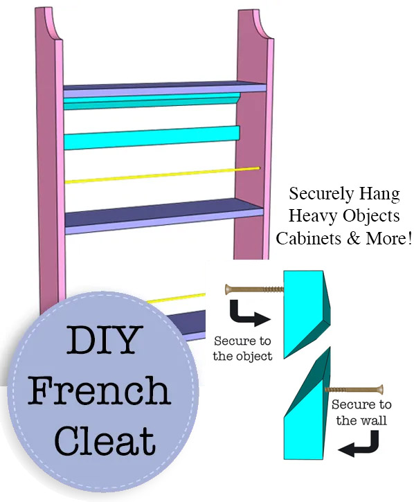 DIY French Cleat